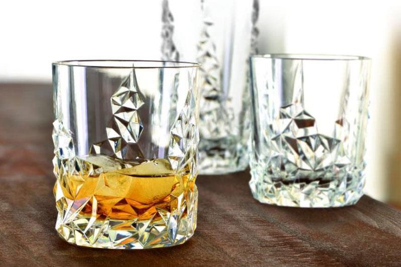 Bộ 4 Cốc Pha Lê Nachtmann 101968 Sculpture Whisky Tumbler, Hình Ảnh 4