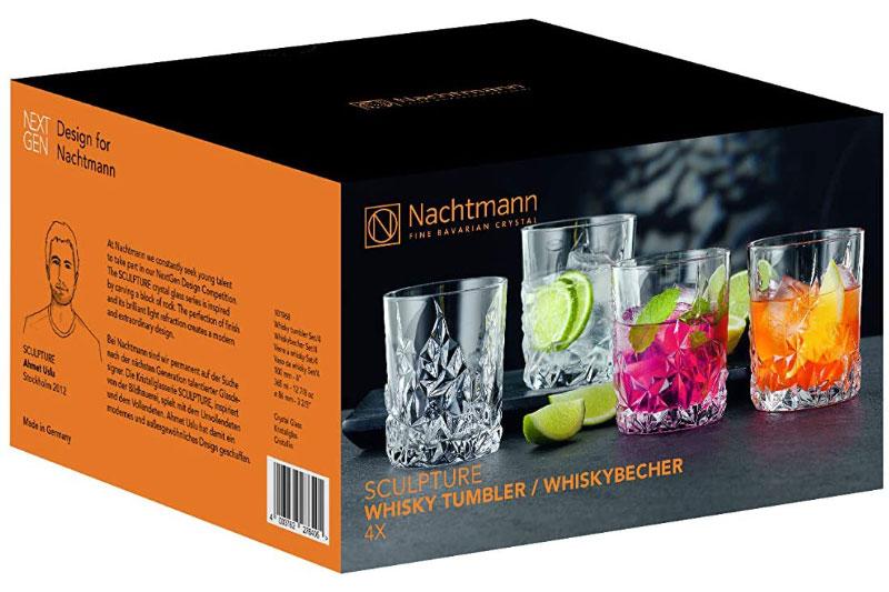 Bộ 4 Cốc Pha Lê Nachtmann 101968 Sculpture Whisky Tumbler, Hình Ảnh 7