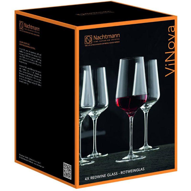 Bộ 4 Ly Vang Đỏ Nachtmann 98073 Vinova Red Wine, Hình Ảnh 3