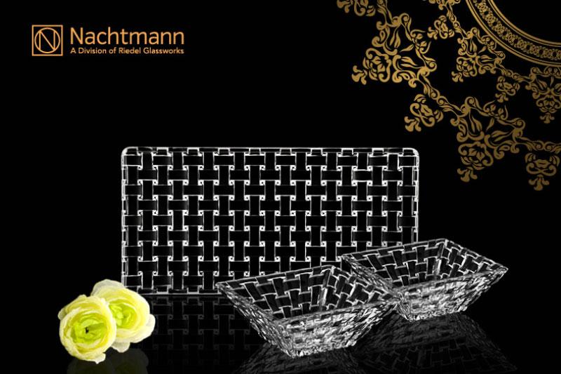 Bộ Khay Bát Pha Lê Nachtmann 90026 Bossa Nova 3 Món, Hình Ảnh 4
