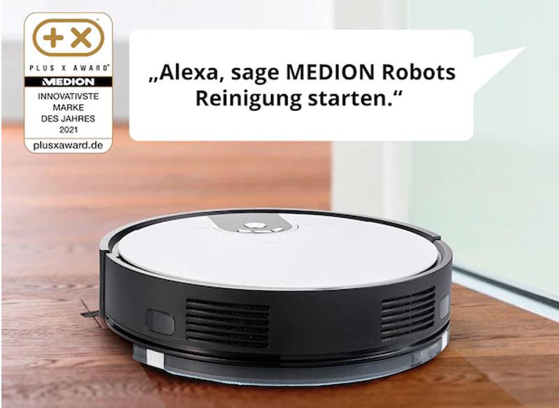 Robot Hút Bụi Medion Md20011, Kiêm Lau Nhà, Hình Ảnh 1