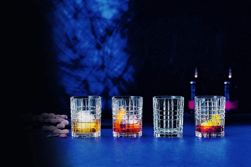 Bộ 4 Cốc Pha Lê Nachtmann 101050 Square Whiskey Tumbler, Hình Ảnh 1