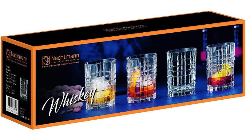 Bộ 4 Cốc Pha Lê Nachtmann 101050 Square Whiskey Tumbler, Hình Ảnh 3