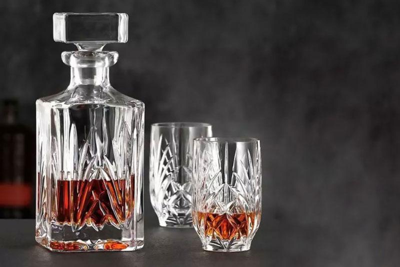 Bộ Bình Rượu Pha Lê Nachtmann 102966 Palais Whisky, 3 Món, Hình Ảnh 1