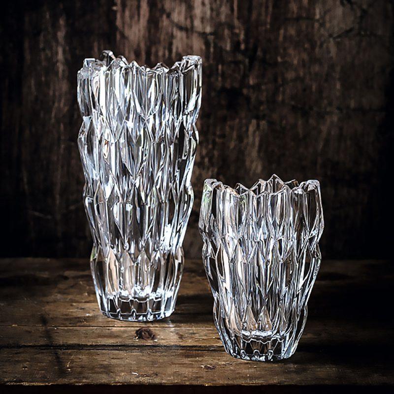 Lọ Hoa Pha Lê Nachtmann Quartz 88332 Vase, Cao 26Cm, Hình Ảnh 3