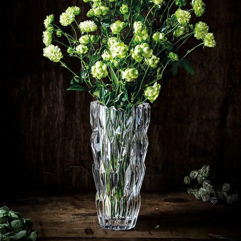 Lọ Hoa Pha Lê Nachtmann Quartz 88332 Vase, Cao 26Cm, Hình Ảnh 2
