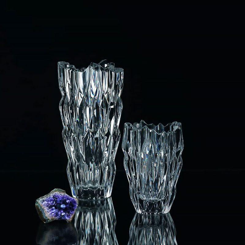 Lọ Hoa Pha Lê Nachtmann Quartz 88332 Vase, Cao 26Cm, Hình Ảnh 1